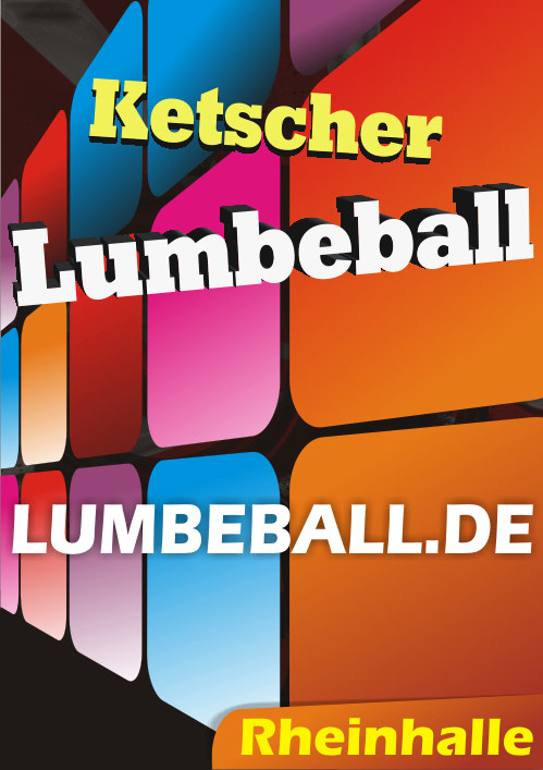 Fasching Fastnacht Karneval Ketscher Lumbeball Faschings Party 2018